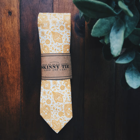 Tangier Skinny Tie - Lord and Lady