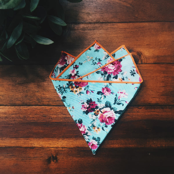 Garden Party Pocket Square