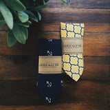 Navy Anchor Little Man Tie - Lord and Lady