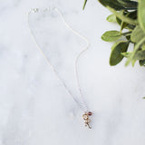 Little Initial Necklace - Personalized Custom Gifts
