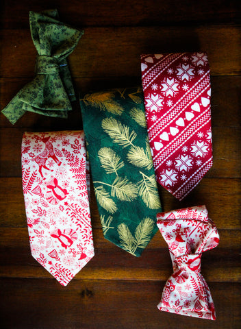 Enchanted Forest Skinny Tie