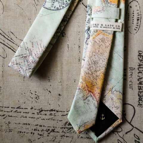 Expedition Skinny Tie