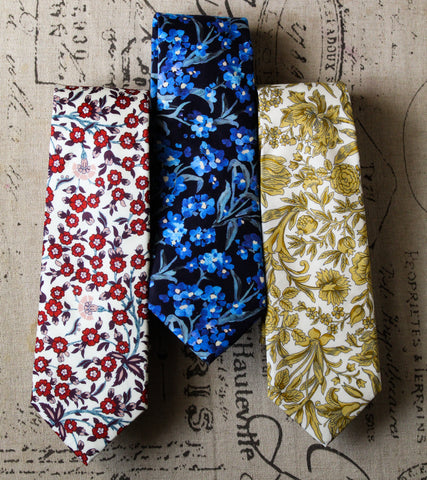 Liberty London Collection: Empire Skinny Tie