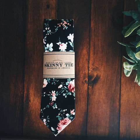 Dorian Skinny Tie - Lord and Lady