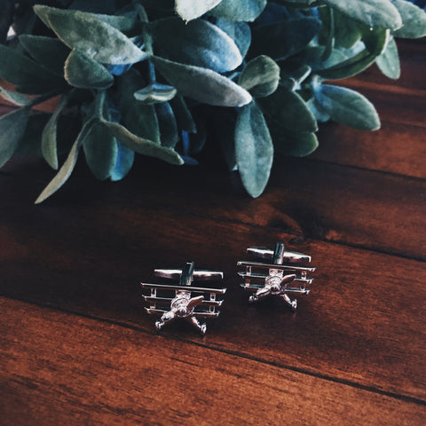 Air Traffic Cuff Links - Lord and Lady