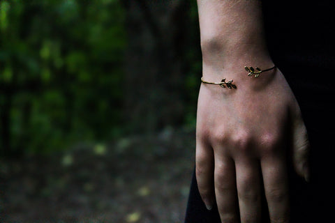 Little Leaf Bangle - Lord and Lady