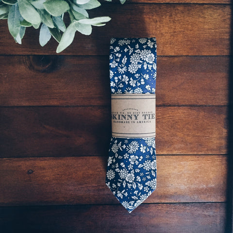 Darcy Skinny Tie - Lord and Lady