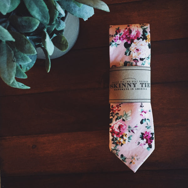 Wilde Skinny Tie - Lord and Lady