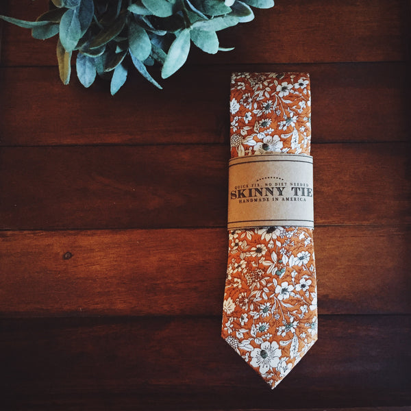 Nottingham Skinny Tie - Lord and Lady