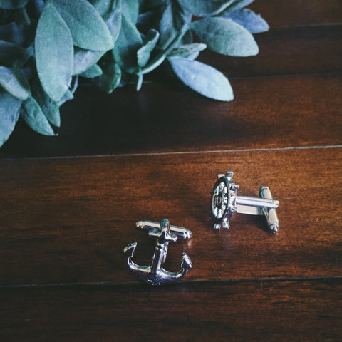 Offshore Cuff Links - Lord and Lady