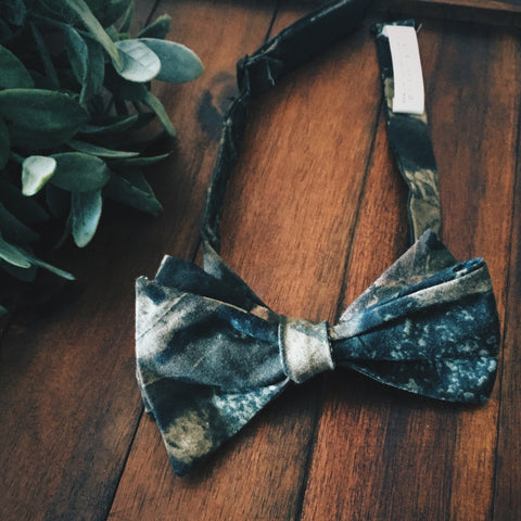 Camo Bow Tie - Lord and Lady