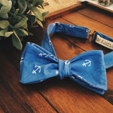 Anchor Bow Tie - Lord and Lady