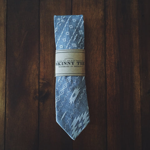Maya Skinny Tie - Lord and Lady