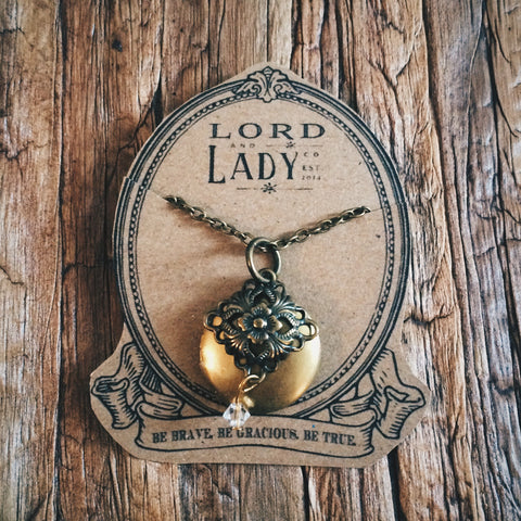 Hiraeth Locket - Lord and Lady