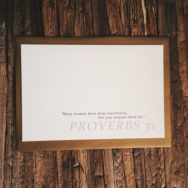 Proverbs 31 - Lord and Lady