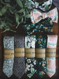 Hilltop Skinny Tie - Lord and Lady