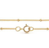 "Dainty Satellite Chain - 14k Gold Filled - 24"" Length"