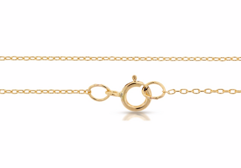 "Dainty Classic Chain - 14k Gold Filled - 16"" Length"