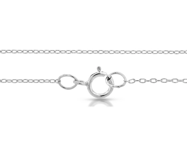 "Dainty Classic Chain - Sterling Silver - 24"" Length"
