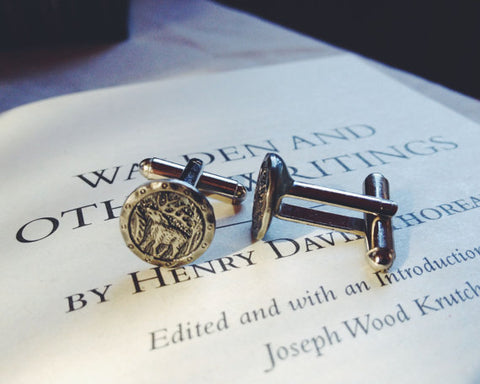 Walden Cuff Links - Lord and Lady