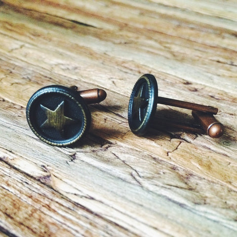 Lonestar Cuff Links - Lord and Lady