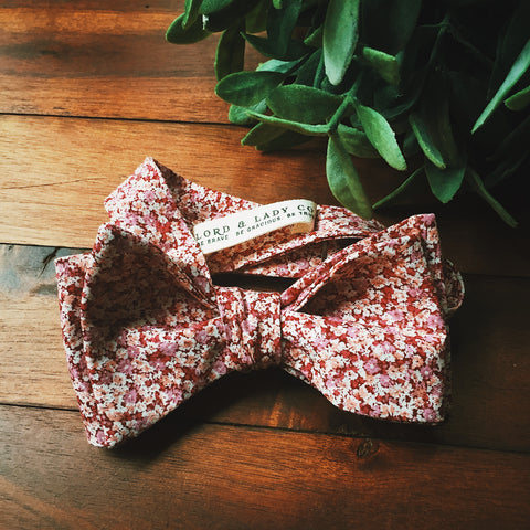 Rose Valley Bow Tie - Lord and Lady
