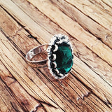 Seaglass Ring - Lord and Lady