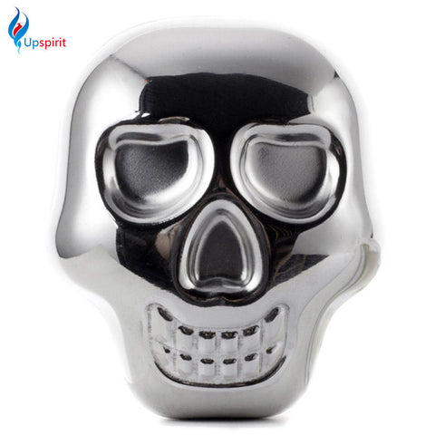 201 New Coming Stainless Steel Skull Ice Cubes Beer Cooler Whiskey Stone Reusable Drink Cooler Wine Appliances Bar Accessories