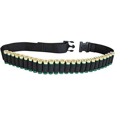 Shotgun Shell Belt, Holds 25 Shotugn Shells, Hunting, Sporting Clays or Trap Shooting Shotgun Shell Belt
