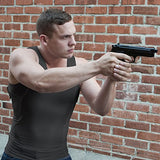 Concealment Clothes Men's Compression Undercover- Concealed Carry Holster Tank Top Shirt