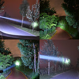 Rechargeable Spotlights Ultra Bright Flashlight LED Emergency headlight Handheld Searchlight for Outdoor Indoor USB Port