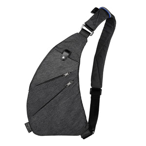 Sling Backpack Shoulder Chest Crossbody Bag Lightweight Casual Outdoor Sport Travel Hiking Multipurpose Anti Theft Cross Body Back Pack Bags Up to 7.9 Inch Tablet for Men Women