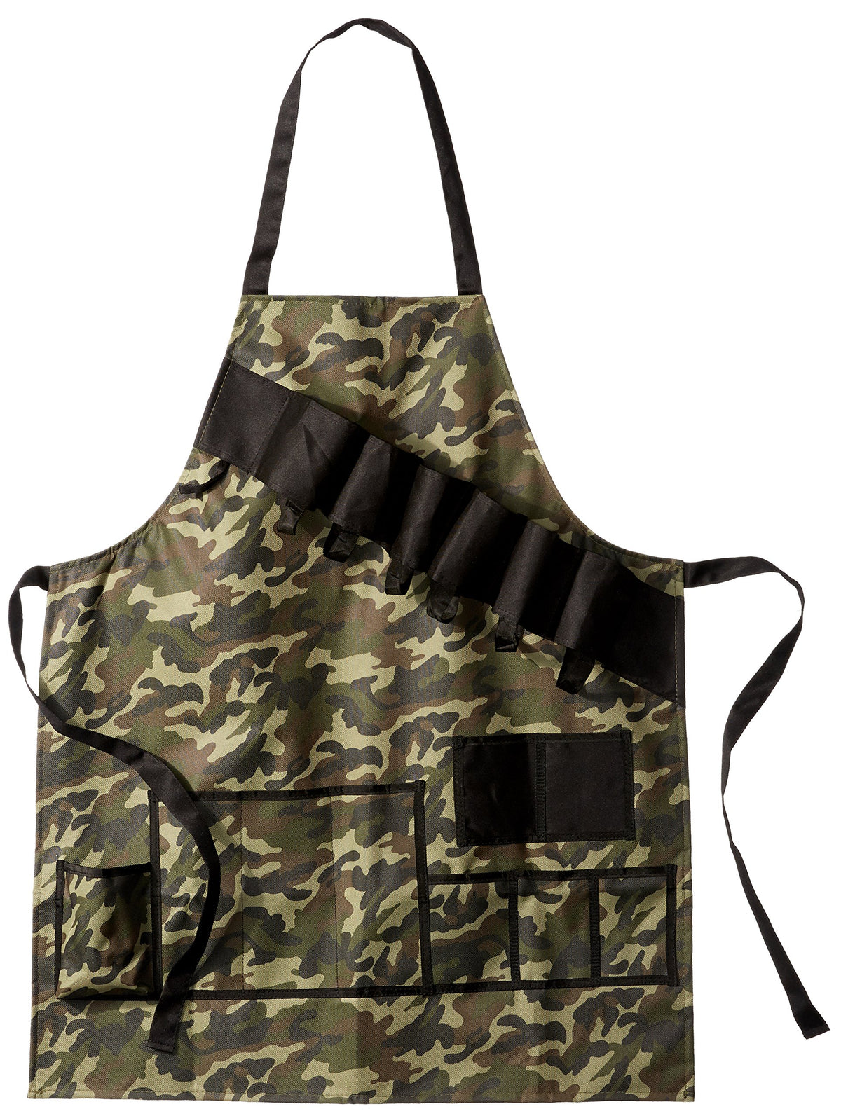 Grill Master Grill Apron and Accessory Holds Beverages and Tools, Camouflage