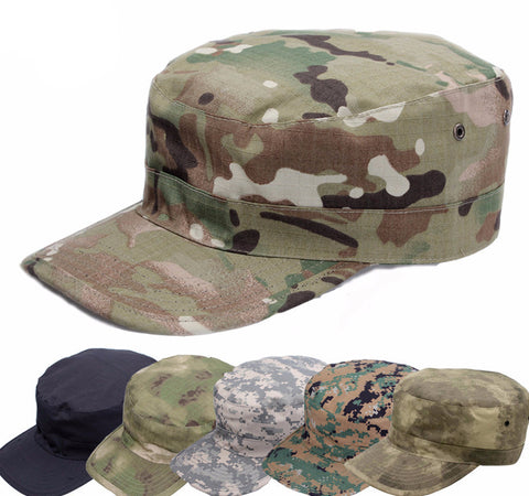 Camouflage Military Style  Cap