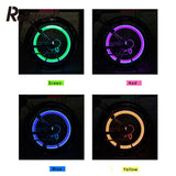 Bicycle Car LED Neon Tire Wheel Gas Nozzle Valve Glow Stick Light Cycling Bicycle Stick LED Lights Bike light