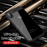 Transparent Protective Cover For iPhone X Cases Full TPU & Acrylic Transparent Back Case For iPhone X Cover