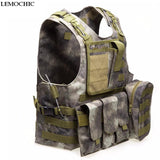 All Purpose Camouflage Amphibious Tactical Vest Great For Hunting Airsoft Molle   Protective Training