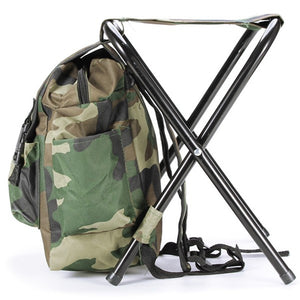Fishing Chair Backpack Camouflage Oxford Cloth Large Capacity Fishing Bag Portable Foldable Stool Fishing Tackle Chair  sc 1 st  Back Country World & Fishing Chair Backpack Camouflage Oxford Cloth Large Capacity ...