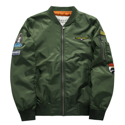 Military Jacket Men's MA-1 Style Army Tactical  Bomber Style
