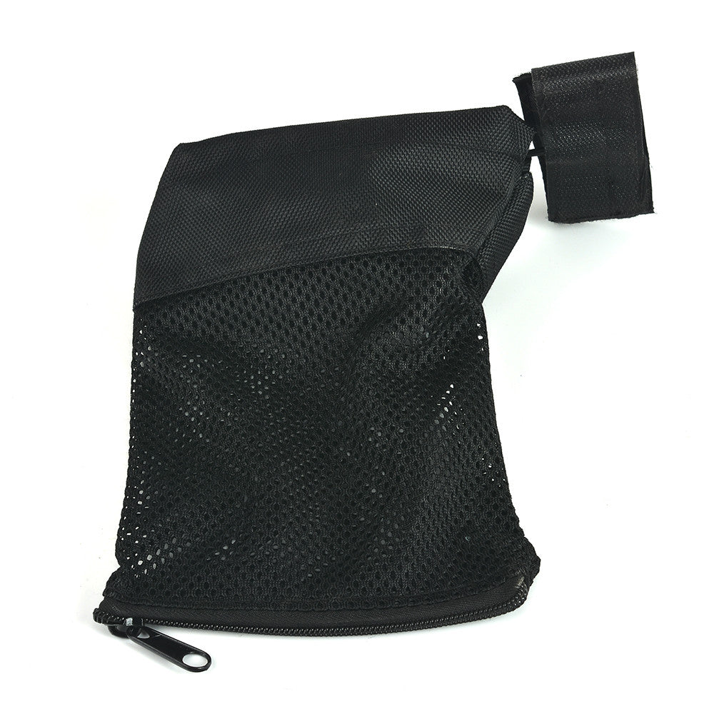 Tactical Accessories AR 15 Ammo Brass Shell Catcher Zippered Closure Quick Unload Nylon Mesh Black for Shooting