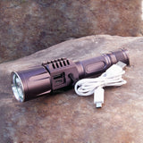 Rechargeable USB led flashlight cree xm l2 Lanterna High Power Torch 3800 lumen Flash light lantern Tactical bike light