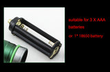 2000 Lm  LED FlashLight Cree