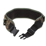Unisex 17 Rounds Hunting Ammo Belt Adjustable Shell Belt Canvas Tactical Shell Bandolier Bullet Belt Hunting Pouches