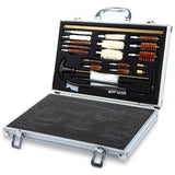 Rifle And Pistol UNIVERSAL CLEANING KIT CONVENIENT WITH CASE BOX AND ACCESSORIES