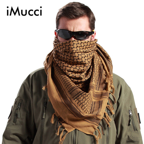 Mens & Womens Military Windproof  Tactical Scarf 100% Cotton