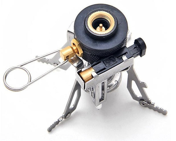 Ultralight portable outdoor backpacking camping stoves Propane stove left on overnight