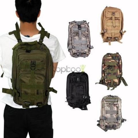 20L Camping Hiking Military Waterproof Assault Pack Tactical Backpack
