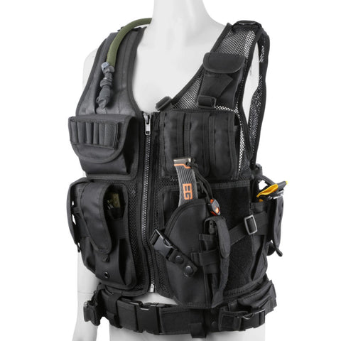Tactical Military Style Assault Plate Carrier Vest Gear