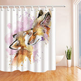 Private military dogs in the United States flag 69X70 inches Mildew Resistant Polyester Fabric Shower Curtain Set Fantastic Decorations Bath Curtain