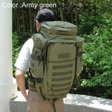 Outdoor Molle Tactical Rifle Bag Backpack